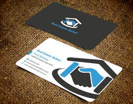 #101 untuk Design some Business Cards for Real Estate Relief oleh einsanimation