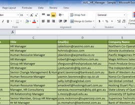 #3 untuk Find me some Leads for email list, Australian companies based in Melbourne oleh rvmi