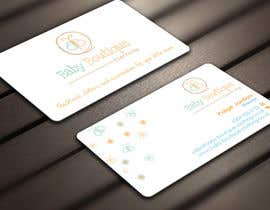 #19 untuk Design some Business Cards for Baby Boutique oleh Derard