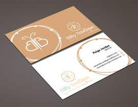 Habib919000 tarafından Design some Business Cards for Baby Boutique için no 54
