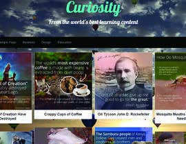 #5 for Build a Wordpress Website for Curiosity af mak633