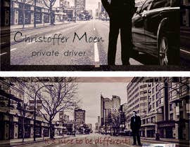 #11 for Business Card - Private Driver by christinaEl