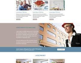 Nro 8 kilpailuun vevey architecte web template käyttäjältä gravitygraphics7