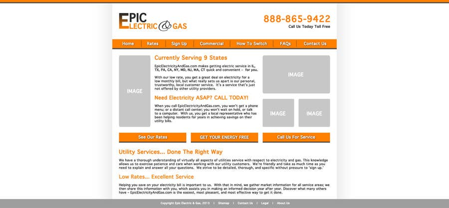 Inscrição nº                                         1                                      do Concurso para                                         Design  Mockup Homepage w/ Logo