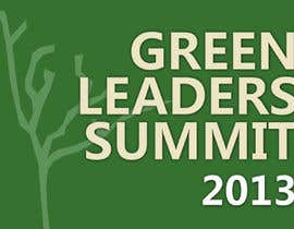 nº 1 pour Design Ad for Green Leaders Summit 2013 par rtodoroff