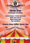 Graphic Design Kilpailutyö #7 kilpailuun Design a Flyer for School Open Day