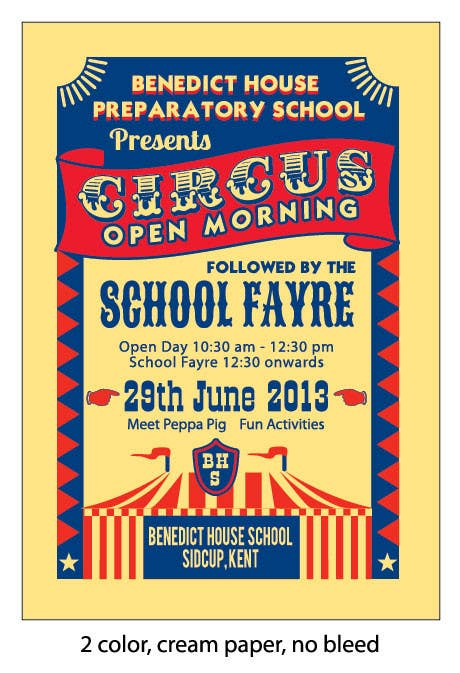 Inscrição nº 23 do Concurso para Design a Flyer for School Open Day
