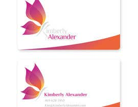 #35 for Design a Business Card for Women's Empowerment Speaker by konkoksie