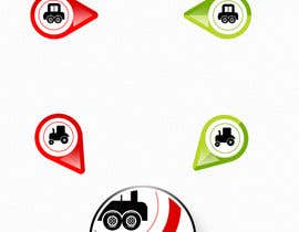 #65 for GPS Fleet Management Map Icons af himel302