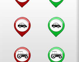 #3 for GPS Fleet Management Map Icons af MateenAC