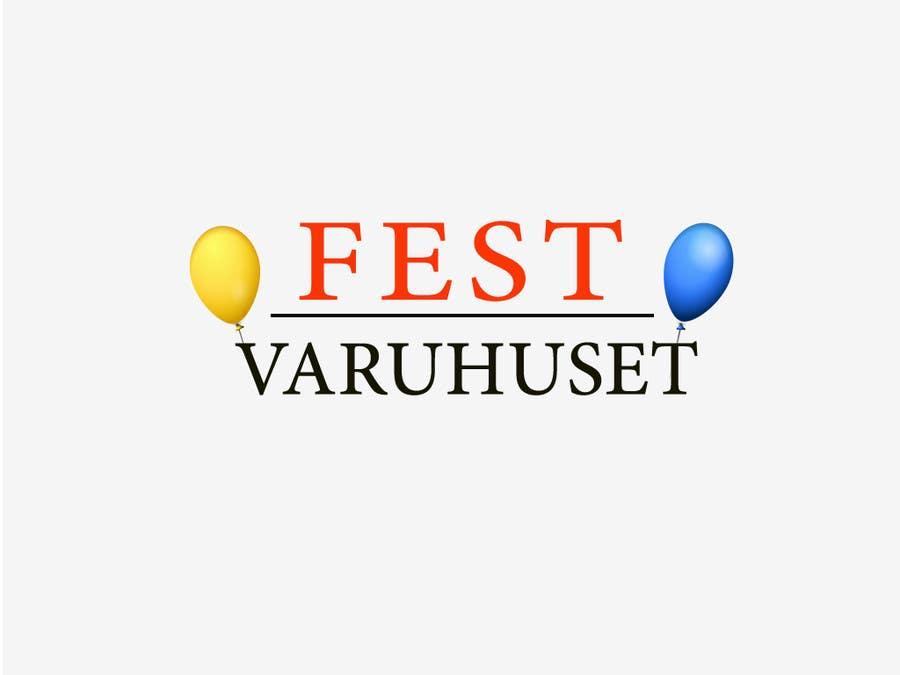 Konkurrenceindlæg #1 for Party supplies webstore logo