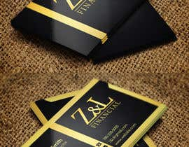 #43 untuk Design some Business Cards for Z and L financial oleh ultrataher