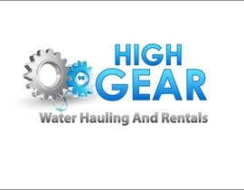 #42 for Redesign/revisualization of the current Logo for High Gear Water Hauling & Rentals af roborean