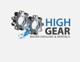 #24 for Redesign/revisualization of the current Logo for High Gear Water Hauling & Rentals af arteastik