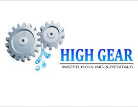 #39 para Redesign/revisualization of the current Logo for High Gear Water Hauling & Rentals por akhileshgoud06