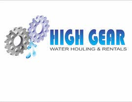 #47 para Redesign/revisualization of the current Logo for High Gear Water Hauling & Rentals por akhileshgoud06