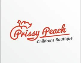 #52 for Design a Logo for Prissy Peach Childrens Boutique af Yariss