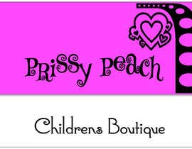 #57 untuk Design a Logo for Prissy Peach Childrens Boutique oleh simonad1