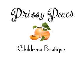 #58 untuk Design a Logo for Prissy Peach Childrens Boutique oleh simonad1