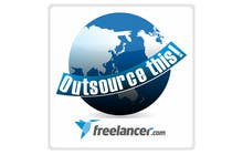 "#356 for Logo Design for Want a sticker designed for Freelancer.com ""Outsource this!"" by ulogo"