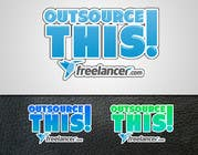 "#157 for Logo Design for Want a sticker designed for Freelancer.com ""Outsource this!"" by eX7ReMe"