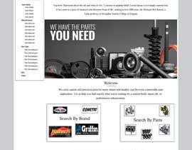 #4 untuk Design a Website Mockup for an auto parts wesbite oleh ravinderss2014