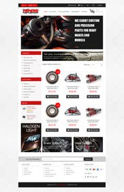 #11 untuk Design a Website Mockup for an auto parts wesbite oleh kreativeminds