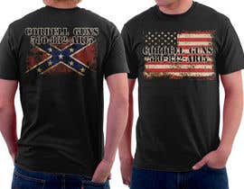#17 untuk Design a T-Shirt for flags front and back oleh simrks