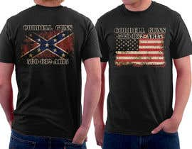 #36 untuk Design a T-Shirt for flags front and back oleh simrks