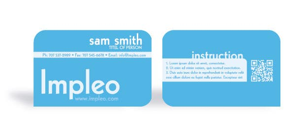 Contest Entry #                                        42                                      for                                         Business Card Design for Impleo