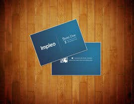 #129 para Business Card Design for Impleo por StrujacAlexandru