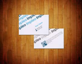 #124 pentru Business Card Design for Impleo de către StrujacAlexandru