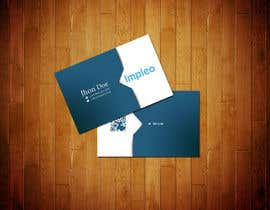 #125 for Business Card Design for Impleo af StrujacAlexandru