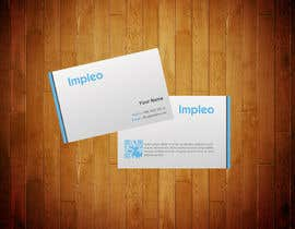 #114 untuk Business Card Design for Impleo oleh StrujacAlexandru