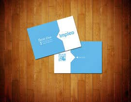 #76 para Business Card Design for Impleo por StrujacAlexandru