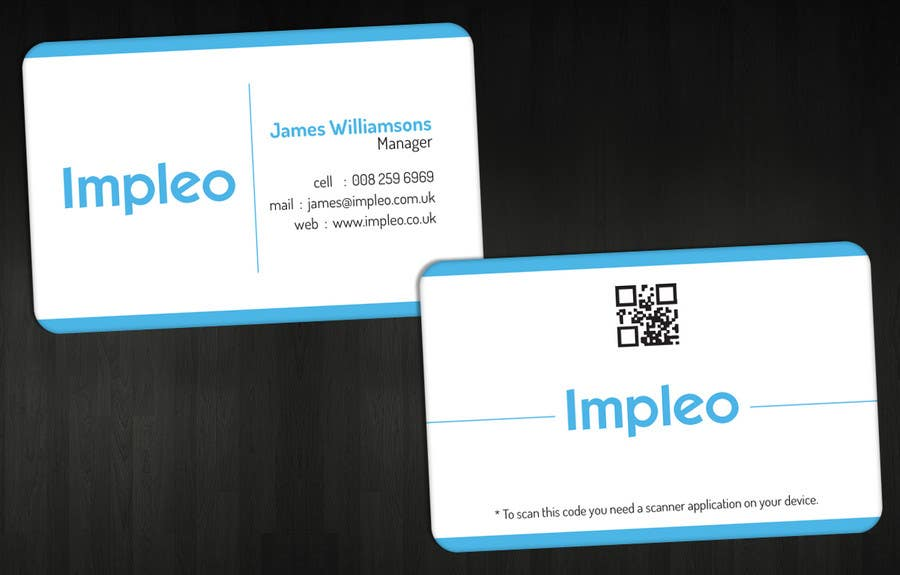Contest Entry #                                        57                                      for                                         Business Card Design for Impleo