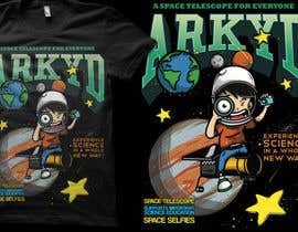 #2372 za Earthlings: ARKYD Space Telescope Needs Your T-Shirt Design! od crayonscrayola
