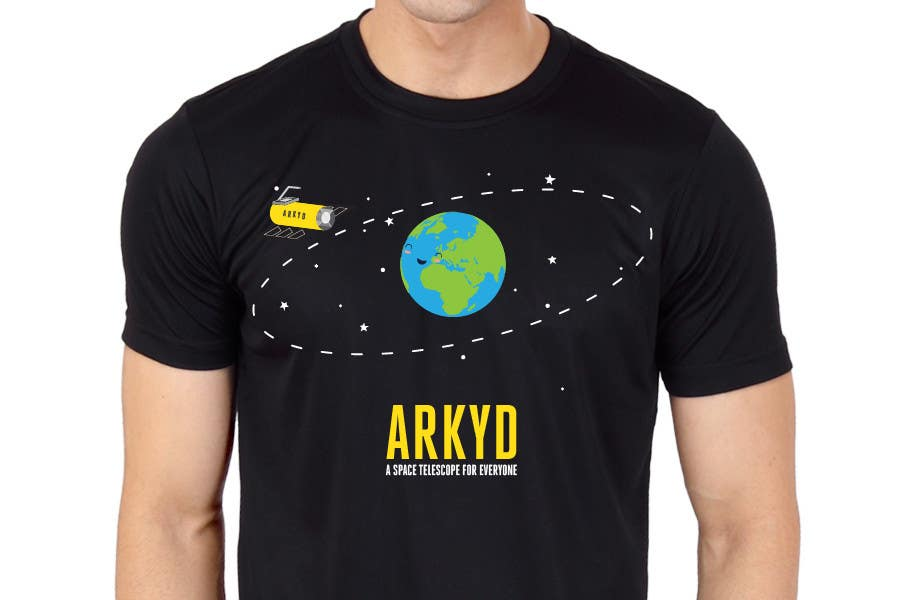 #1771 para Earthlings: ARKYD Space Telescope Needs Your T-Shirt Design! de RamonDNC