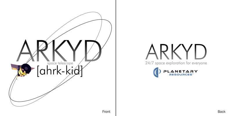 Bài tham dự cuộc thi #2101 cho Earthlings: ARKYD Space Telescope Needs Your T-Shirt Design!