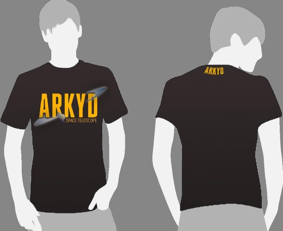 #360 for Earthlings: ARKYD Space Telescope Needs Your T-Shirt Design! by SPIRALdesign