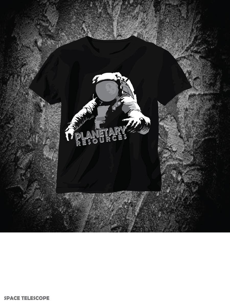 Bài tham dự cuộc thi #540 cho Earthlings: ARKYD Space Telescope Needs Your T-Shirt Design!