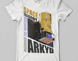 nº 1381 pour Earthlings: ARKYD Space Telescope Needs Your T-Shirt Design! par nihatgulsuyu