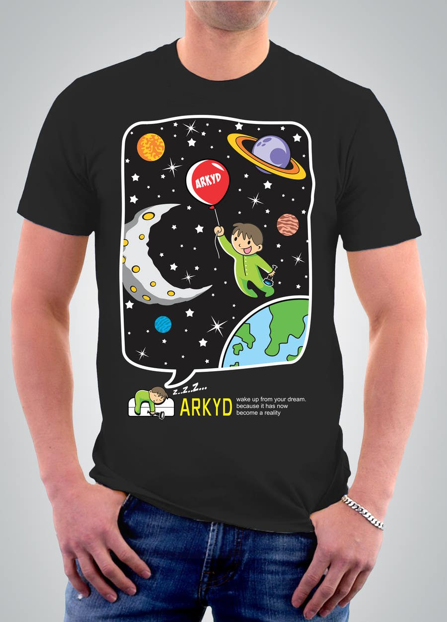 #2082 für Earthlings: ARKYD Space Telescope Needs Your T-Shirt Design! von lanangali