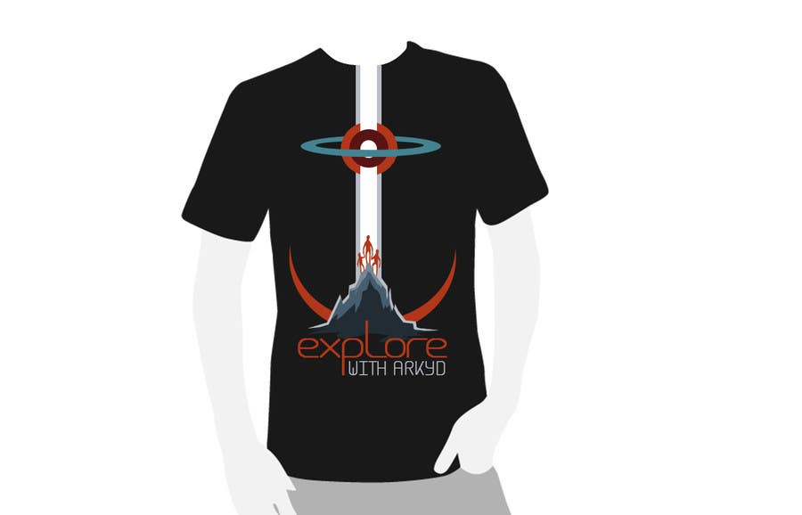 Bài tham dự cuộc thi #2551 cho Earthlings: ARKYD Space Telescope Needs Your T-Shirt Design!