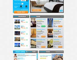 nº 97 pour Website Design for Hoteltrotter par firethreedesigns