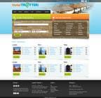 Graphic Design Inscrição do Concurso Nº19 para Website Design for Hoteltrotter