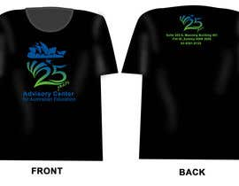 #5 untuk Design a T-Shirt for Advisory Centre for Australian Education oleh jengcapilos