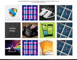 Nro 26 kilpailuun Design a Website Mockup for Graphics website käyttäjältä webgraphics007