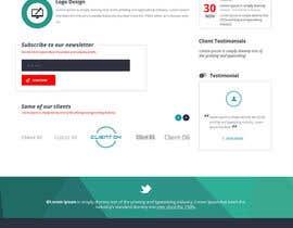 Nro 16 kilpailuun Design a Website Mockup for Graphics website käyttäjältä zaxsol