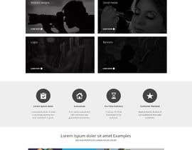 Nro 32 kilpailuun Design a Website Mockup for Graphics website käyttäjältä Pavithranmm